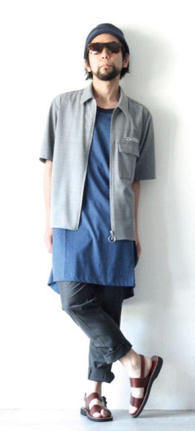 画像3: ETHOSENS / 半袖ジップシャツ