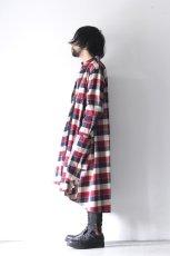 画像8: S I S E / チェックロングシャツジャケット (8)