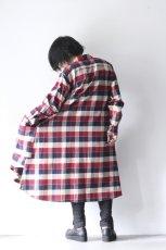 画像10: S I S E / チェックロングシャツジャケット (10)