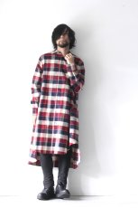 画像11: S I S E / チェックロングシャツジャケット (11)