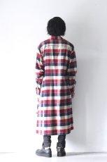 画像9: S I S E / チェックロングシャツジャケット (9)