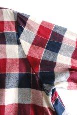 画像16: S I S E / チェックロングシャツジャケット (16)