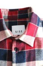 画像15: S I S E / チェックロングシャツジャケット (15)