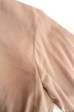 画像14: ETHOSENS / テンセルアシンメトリーシャツ (14)