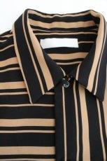 画像11: ETHOSENS / ランダムストライプシャツ (11)
