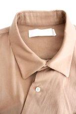 画像12: ETHOSENS / テンセルアシンメトリーシャツ (12)