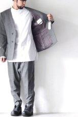 画像4: yoshio kubo / ノーカラージャケット (4)