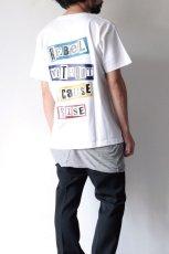 画像6: S I S E / バックプリントTシャツ (6)