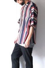画像6: S I S E / プリントビッグポケットシャツ (6)
