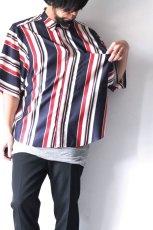 画像2: S I S E / プリントビッグポケットシャツ (2)