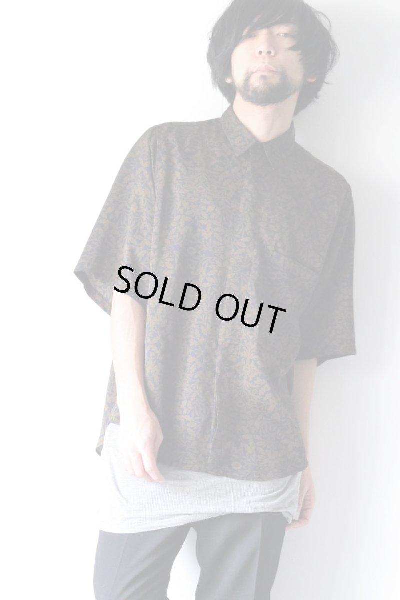 画像1: S I S E / プリントビッグポケットシャツ (1)