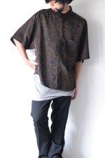 画像4: S I S E / プリントビッグポケットシャツ (4)