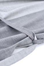 画像20: ETHOSENS / バイカラーオーバーサイズシャツ (20)