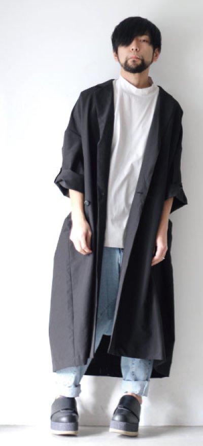 画像1: STOF / アーミッシュ刺繍羽織コート