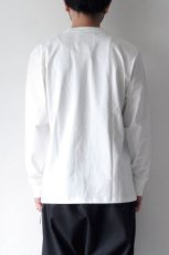 画像6: STUDIO NICHOLSON / LOOSE LONG SLEEVE TEE (6)