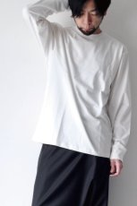 画像8: STUDIO NICHOLSON / LOOSE LONG SLEEVE TEE (8)