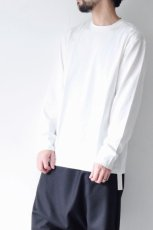 画像4: STUDIO NICHOLSON / LOOSE LONG SLEEVE TEE (4)