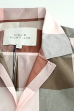 画像12: STUDIO NICHOLSON / SHORT SLV MADRAS CHECK SHIRT (12)