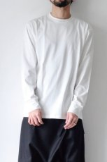 画像2: STUDIO NICHOLSON / LOOSE LONG SLEEVE TEE (2)