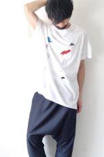 画像10: STOF / 静物刺繍BIGTシャツ (10)