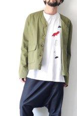 画像11: STOF / 静物刺繍BIGTシャツ (11)