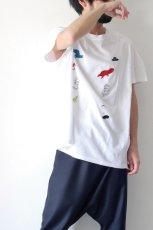 画像8: STOF / 静物刺繍BIGTシャツ (8)