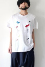 画像2: STOF / 静物刺繍BIGTシャツ (2)