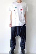 画像3: STOF / 静物刺繍BIGTシャツ (3)