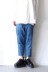 画像2: STOF / 手刺繍モチーフジーンズ (2)