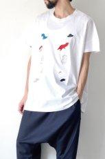 画像5: STOF / 静物刺繍BIGTシャツ (5)