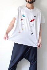 画像9: STOF / 静物刺繍BIGTシャツ (9)