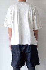 画像7: Licht Bestreben / ジャカード切替Tシャツ (7)