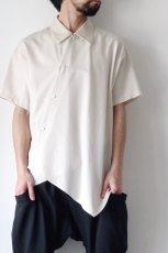 画像4: ETHOSENS / アシンメトリーシャツ (4)