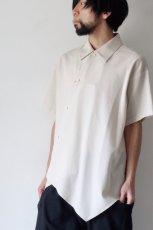 画像3: ETHOSENS / アシンメトリーシャツ (3)