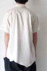 画像6: ETHOSENS / アシンメトリーシャツ (6)