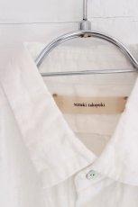 画像10: suzuki takayuki / 半袖リネンシャツ (10)
