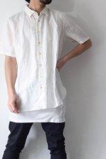画像2: suzuki takayuki / 半袖リネンシャツ (2)