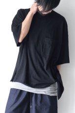 画像2: UNDECORATEDMAN / リボンTシャツ[オーガニックコットン] (2)