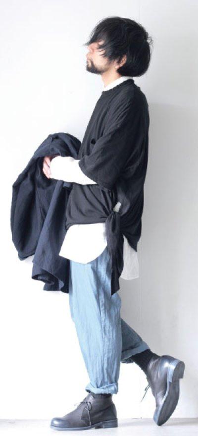 画像1: UNDECORATEDMAN / リボンTシャツ[オーガニックコットン]