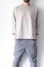 画像2: UNDECORATEDMAN / ハーフスリーブTシャツ[ハードコットン] (2)