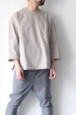 画像8: UNDECORATEDMAN / ハーフスリーブTシャツ[ハードコットン] (8)