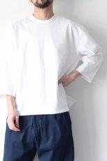 画像3: UNDECORATEDMAN / ハーフスリーブTシャツ[ハードコットン] (3)