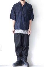 画像2: UNDECORATEDMAN / ストライプ半袖シャツ (2)