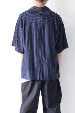 画像6: UNDECORATEDMAN / ストライプ半袖シャツ (6)