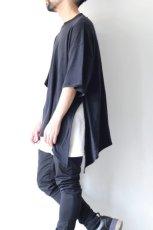 画像6: UNDECORATEDMAN / シルクネップリボンTシャツ (6)