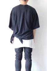 画像7: UNDECORATEDMAN / シルクネップリボンTシャツ (7)