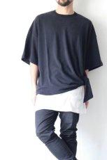 画像5: UNDECORATEDMAN / シルクネップリボンTシャツ (5)