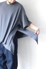 画像10: UNDECORATEDMAN / シルクネップリボンTシャツ (10)