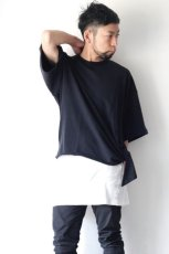画像4: UNDECORATEDMAN / シルクネップリボンTシャツ (4)