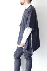 画像12: UNDECORATEDMAN / シルクネップリボンTシャツ (12)